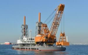 Large Type Marine Crane