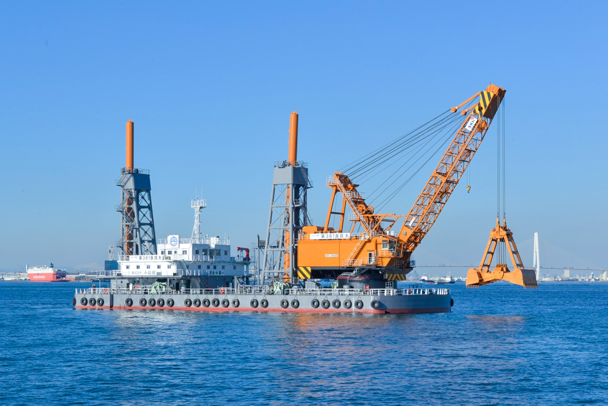 GE Series / Electric-Driven Grab Dredging Crane
