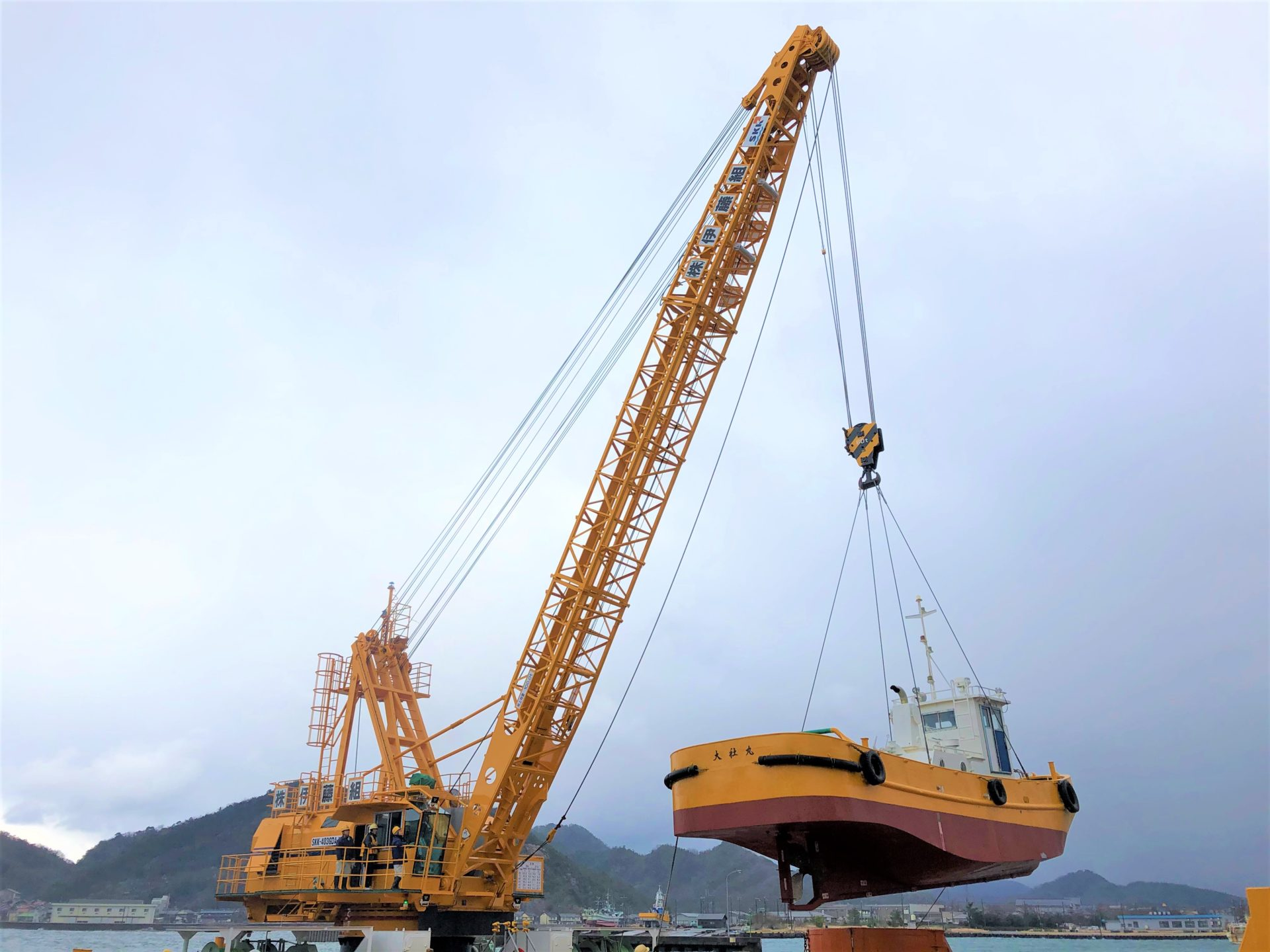 Multi-Purpose Crane as well as to Perform Load Lifting Service